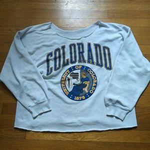 Vintage University of Colorado Sweater